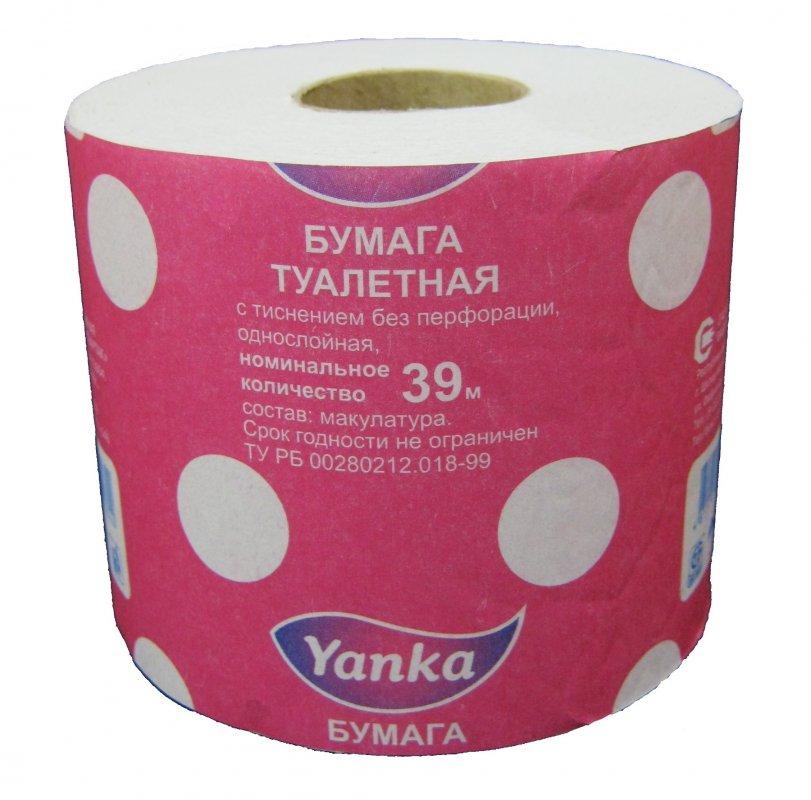 туалетная бумага 39 метров