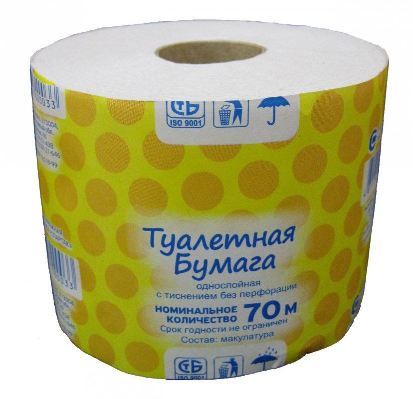туалетная бумага 70 метров