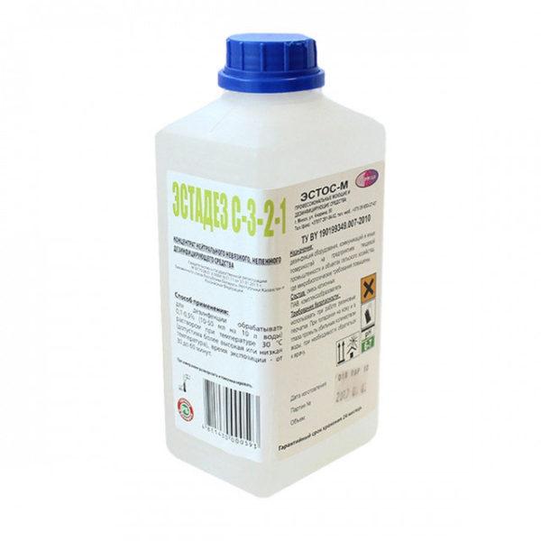 Антисептическое средство для поверхностей Эстадез С 3-2-1