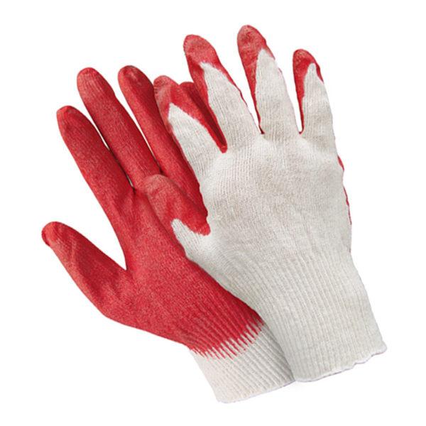 Перчатки хб с латексным обливом ладони