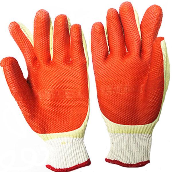 Перчатки с покрытием усиленной резины